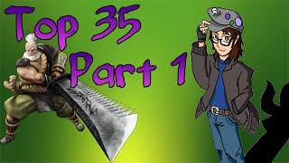Top 35 Sengoku BASARA 3 Characters PART 1 (35-24)