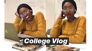 Another College Vlog | College Life In NYC | Photoshoot, Studying, The Boil