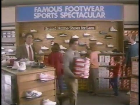 1986 FAMOUS FOOTWEAR commercial