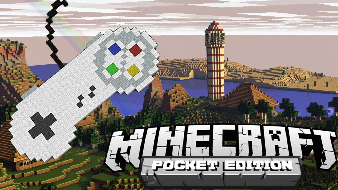 minecraft pocket edition mit controller spielen xbox playstation deutsch german hd youtube. Black Bedroom Furniture Sets. Home Design Ideas
