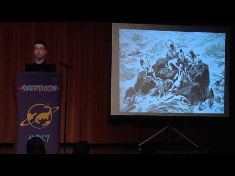 """God is an Idiot: God's """"Perfect"""" Plan - JT Eberhard - Skepticon 7"""