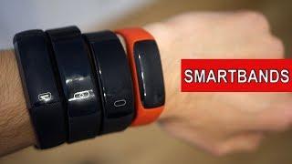 Hablemos de pulseras cuantificadoras (smartbands) baratas