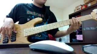 無限融合黨(Timeless Fusion Party) Material Girl bass cover