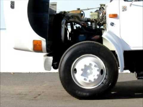 Sold! International Navistar 4700 T444E 190 HP Diesel 7 Yrd Dump bidadoo.com