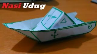 Video origami kapal boat : original indonesian origami download MP3, 3GP, MP4, WEBM, AVI, FLV Juli 2018