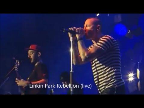 Linkin Park -  Rebellion (feat)  Daron Malakian  (Live) HD Video HQ Audio