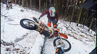 Dirtbikes on Snow | Fail Compilation 2018