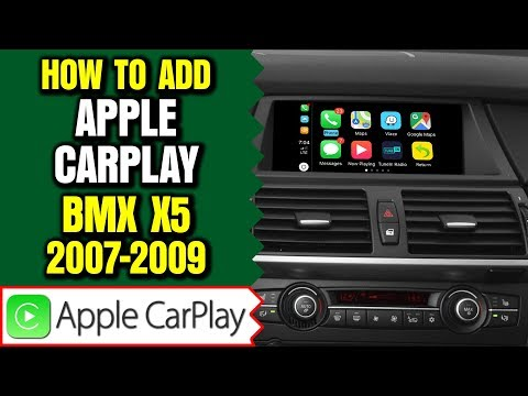 BMW X5 E70 CCC Video Interface, Apple Carplay  Android Auto 2 In 1 Or Wireless Smartphone Mirroring
