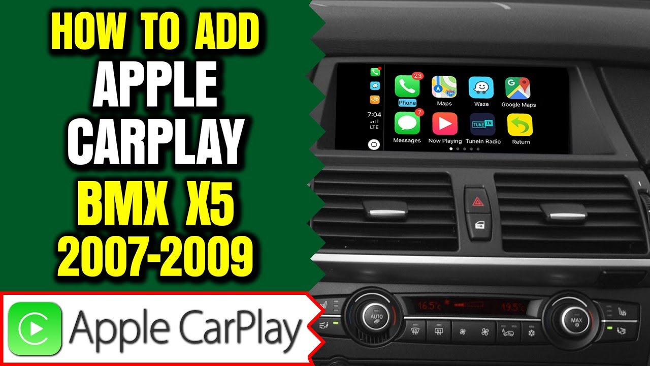 Bmw X5 E70 Ccc Video Interface Apple Carplay Android Auto 2 In 1 Or