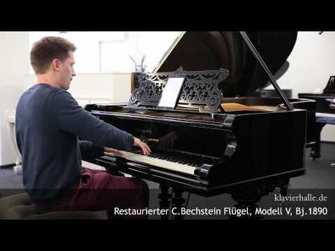 Restaurierter C.Bechstein Flügel, Modell V, Bj.1890   Chopin - Nocturne des-dur