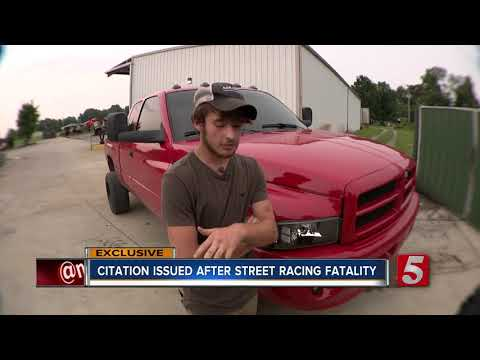 Citation Issued To Friend Who Helped Victim In Fatal Street Race