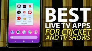 Best Live TV Apps to Watch Cricket and TV Shows on the Go