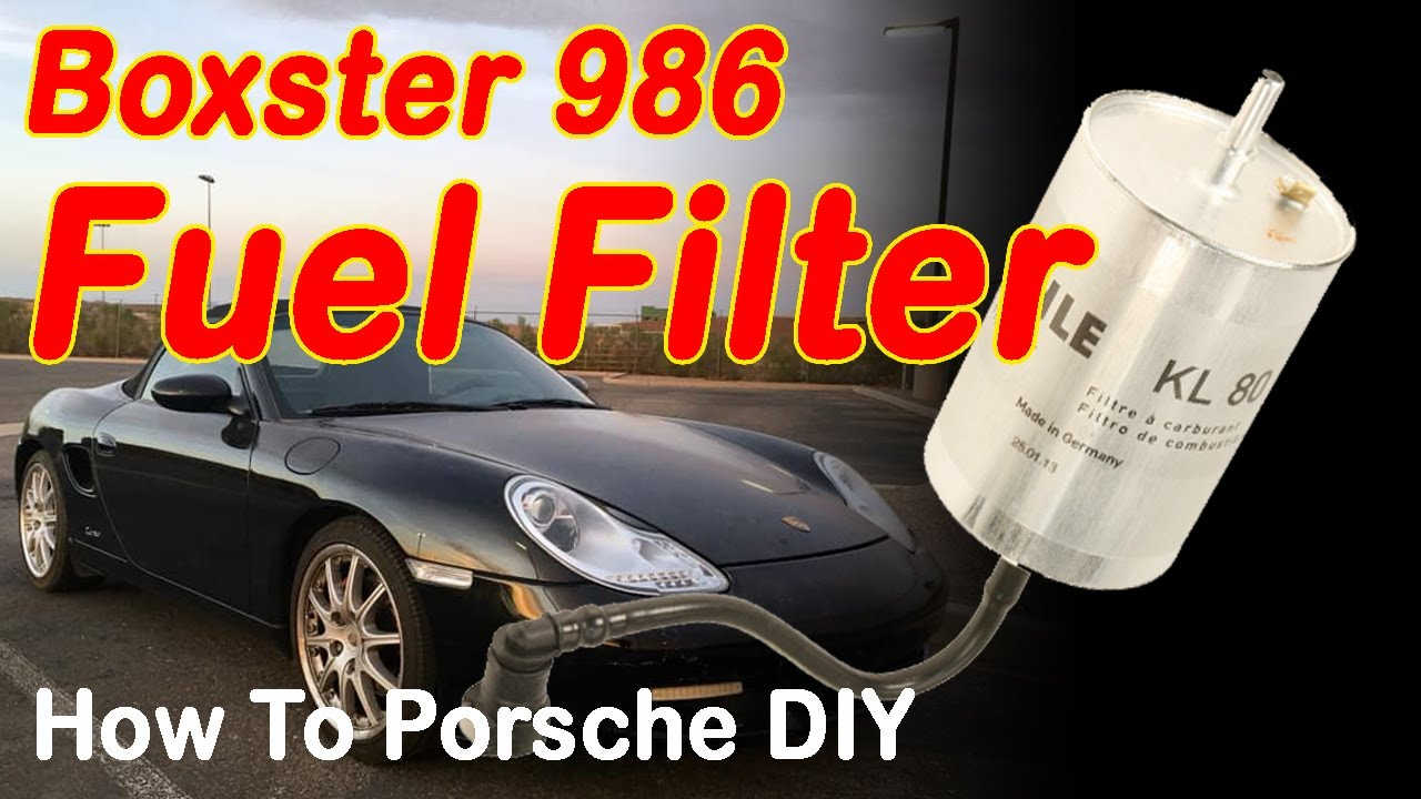 Porsche Boxster 986 Fuel Filter Change Diy Youtube