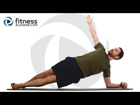 30 Minute Abs Workout - Intense Core Workout with Warm Up and Cool Down
