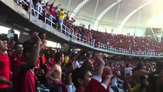 Se va a caer la popular - Barón Rojo Sur - L.H.D.L.C - América vs Bogotá FC