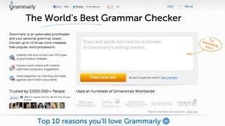 Grammarly Automated Online Proofreader