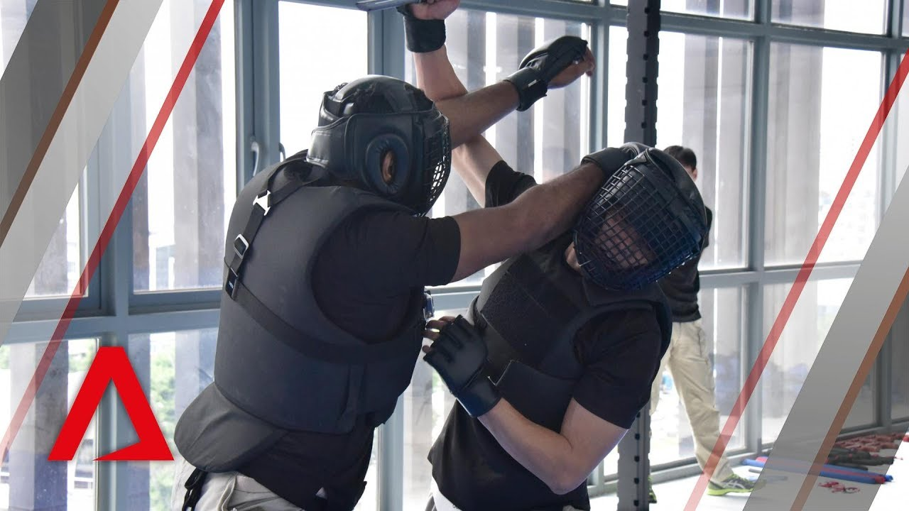 CNB Special Task Force training: Unarmed combat