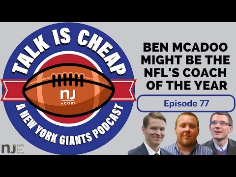 Is Giants' Ben McAdoo a Coach of the Year candidate?