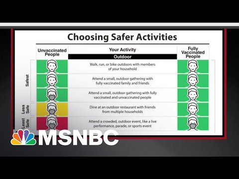 The CDC's New Outdoor Mask Guidance Explained   The 11th Hour   MSNBC