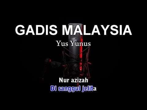 GADIS MALAYSIA - Karaoke tanpa vokal Mp3