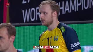 IHF World Men's Handball Championship 2021 Final, Denmark - Sweden. Full match