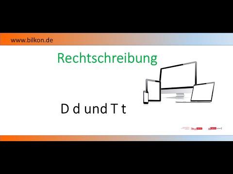 Rechtschreibung: d oder t