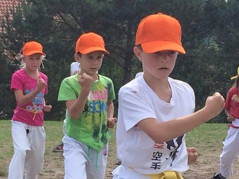 Video z letního karate kempu