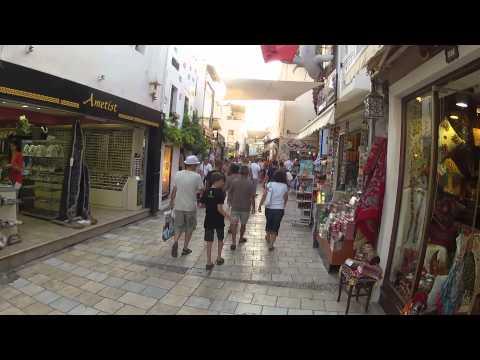 Bodrum Barlar Sokağı Bar's street of Bodrum Gopro Hero 2 Hd Kamera Traxxas Slash 4x4 Rc Model