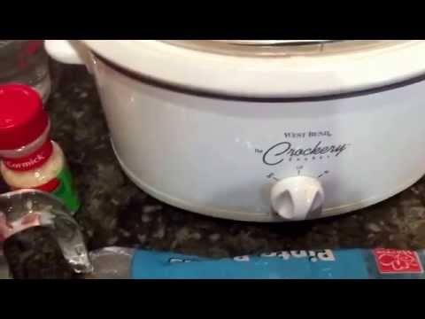How To Cook Pinto Beans In A Crockpot Recipe
