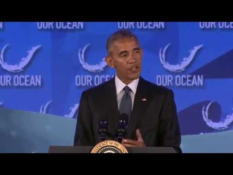 President Obama Delivers Remarks at the 2016 Our Ocean Conference