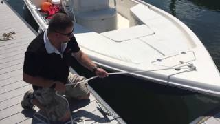 Proper Way To Tie Off To A Dock Cleat