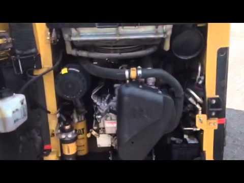 CAT 216 B motor