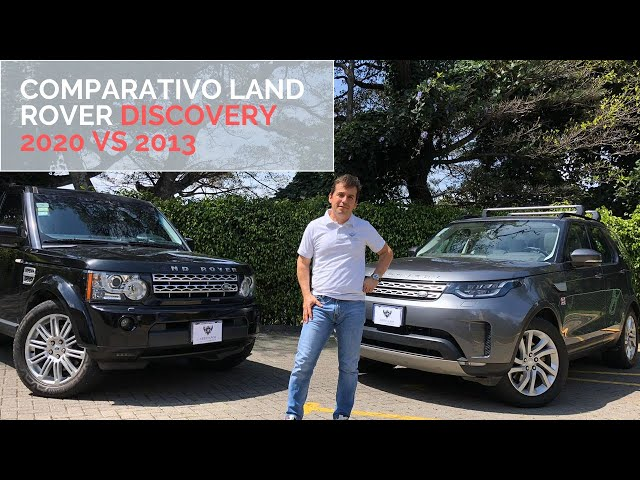 Comparativo Land Rover Discovery 2013 vs Discovery 2020 | Artesanos Car Club