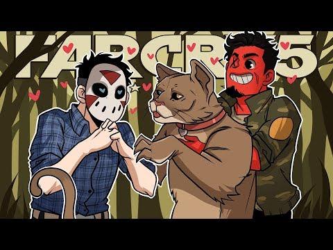 PEACHES THE COUGAR!   Far Cry 5 (Coop w/ H2O Delirious) EP 11