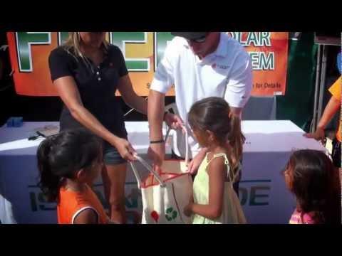 Islandwide Solar System Give Away at Kauai County Farm Fair