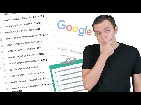 How to Generate a Massive List of Keywords: SEO for Beginners Tutorial