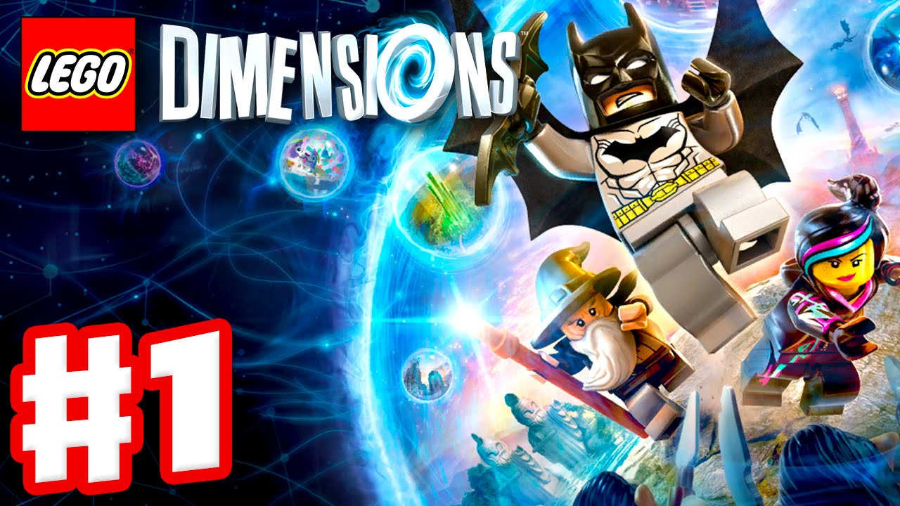 Lego Dimensions Gameplay Walkthrough Part 1 Batman Gandalf And Wyldstyle Ps4 Xbox One Youtube