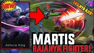 NEW HERO MARTIS RAJANYA FIGHTER! ULTINYA NGERI PAKE BANGET!! - Mobile Legend
