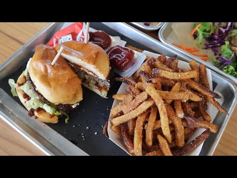 Trying The Lamborghini Burger | Detroit Shipping Co | MAM Eating Show | Pt 2