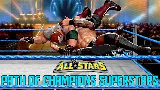 RKO OUTTA NOWHERE 3 TIMES | WWE All Stars Path of Champions Superstars Randy Orton Part 3