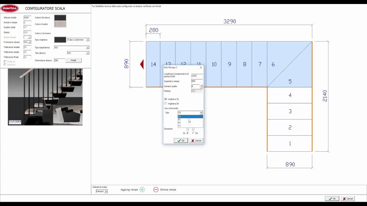 Rintal scale e arredocad designer youtube - Rintal scale forli ...