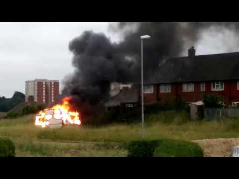 seacroft caravan fire