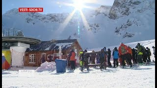 Красная Поляна лидирует в голосовании за лучший горнолыжный курорт России