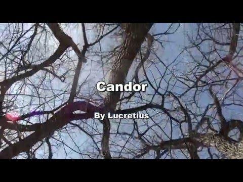 Candor: A Meditation, By Lucretius