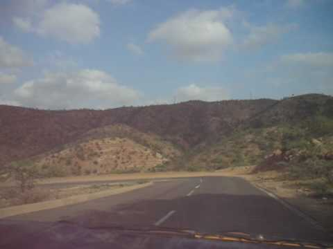 Eritrea 2008: From Asmara to Massawa by taxi