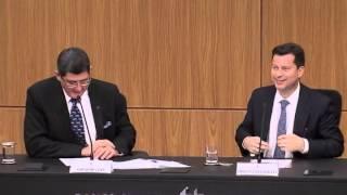 Em cerimônia de posse, Joaquim Levy defende o equilíbrio fiscal sem excluir os direitos sociais