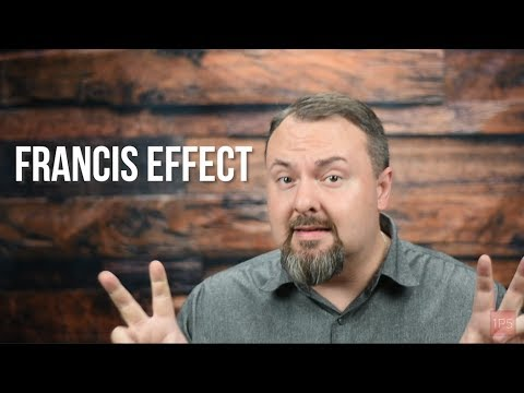 1P5 Minute: 6-14-2018: The Francis Effect in Real Numbers