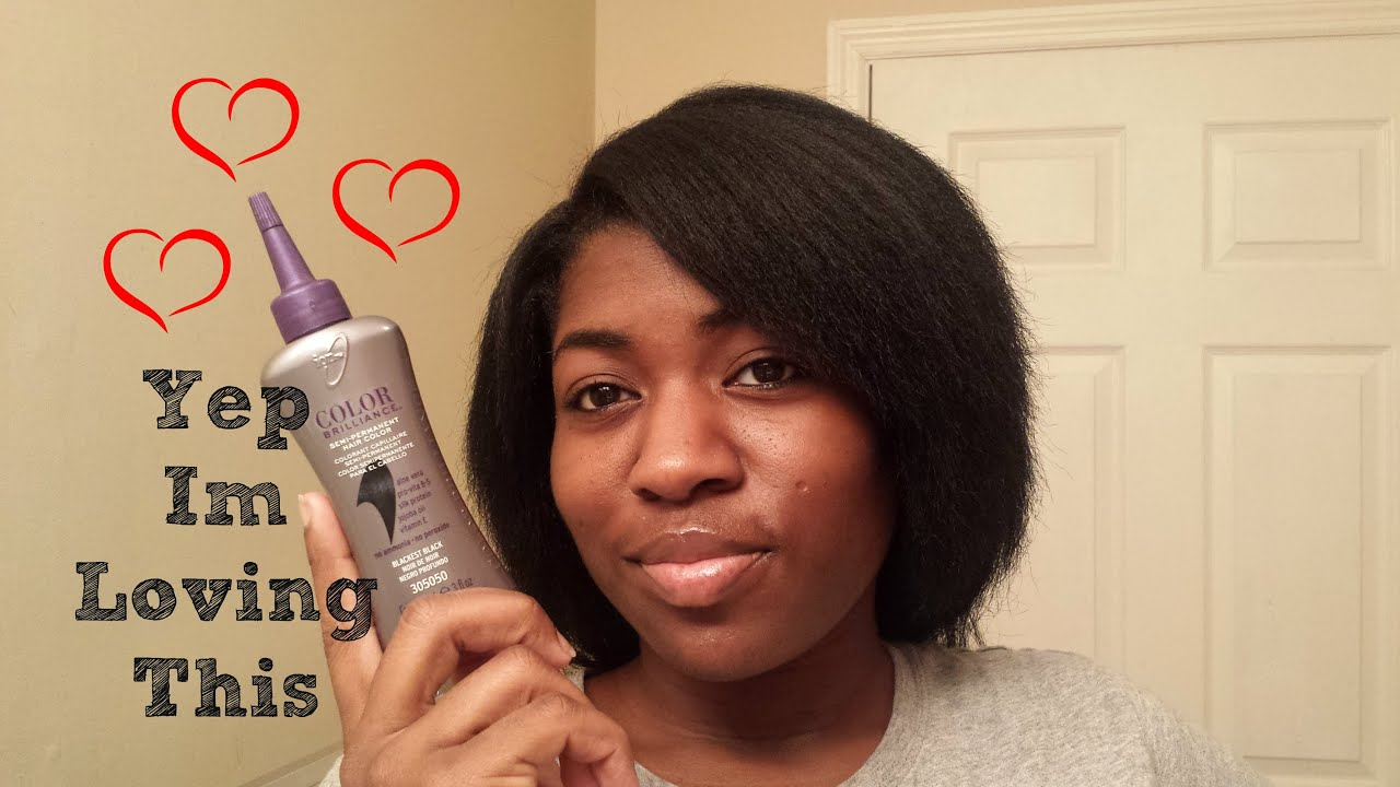 Love Dark Hair But Hate Harsh Chemicals Try This Youtube