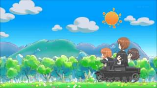 Girls und Panzer - 「US Field Artillery March」 【OST】