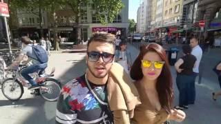 VLOG (79) انظر الى بلال اكاد و عشيقته المغربية يتجولون في مدينة فرانكفورت الالمانية